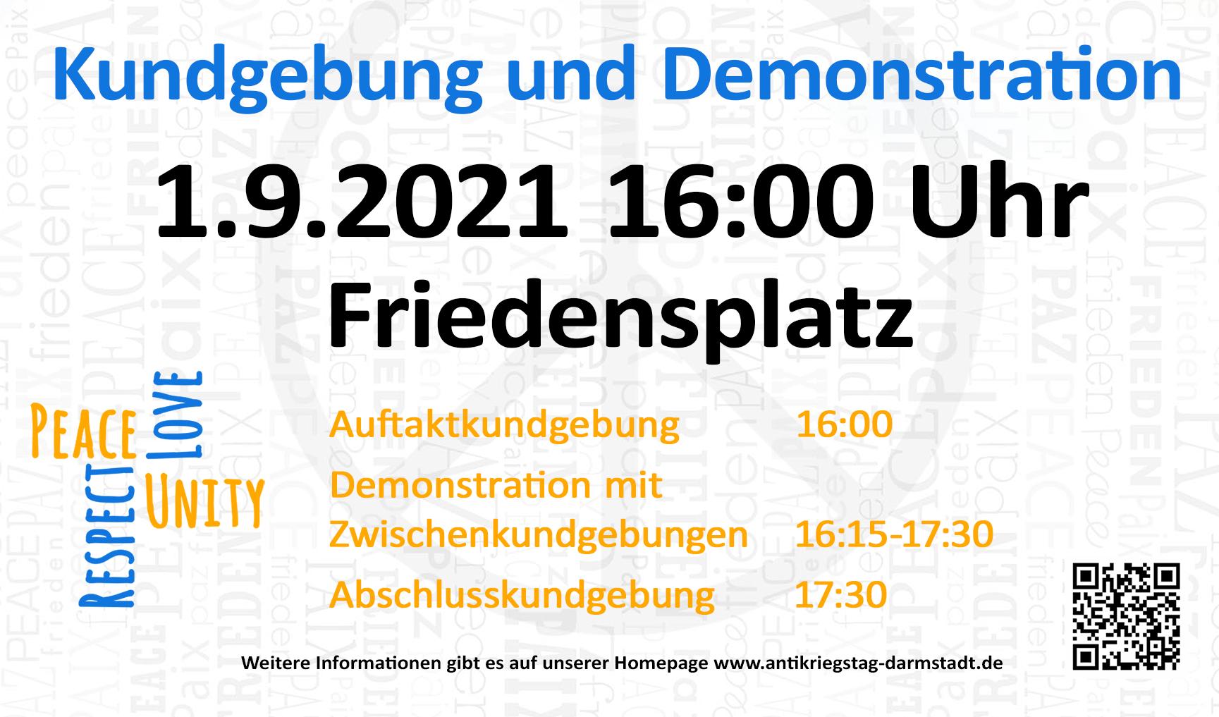 Zur Antikriegstag-Homepage